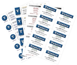 Printable Business Card Templates Create Free - Printable business card templates free