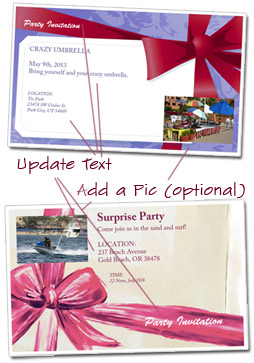 Party Invitation Template How To Customize  Free Customizable Invitation Templates